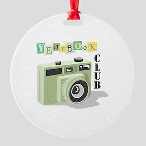 Year Book Club Ornament