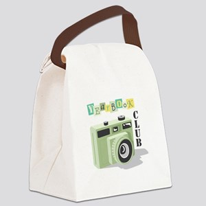Year Book Club Canvas Lunch Bag