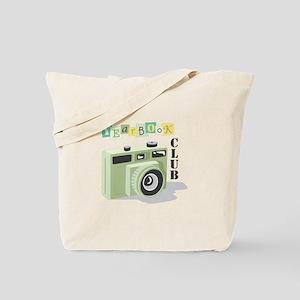 Year Book Club Tote Bag