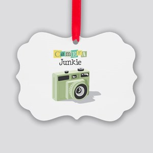 Camera Junkie Ornament