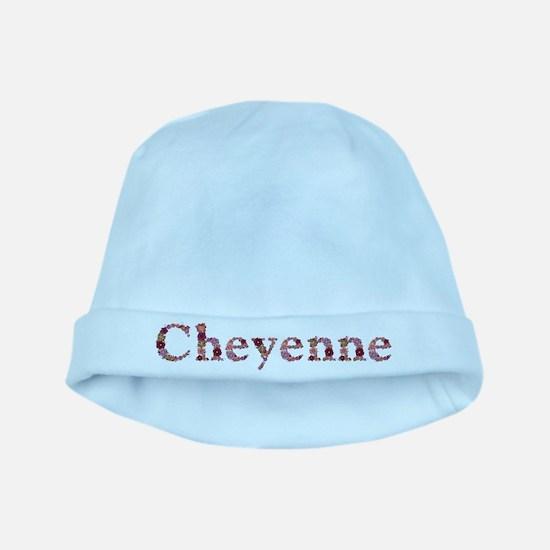 Cheyenne Pink Flowers baby hat