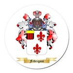 Fedrigoni Round Car Magnet