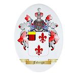 Fedrigo Ornament (Oval)
