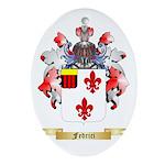 Fedrici Ornament (Oval)