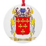 Fedoronko Round Ornament