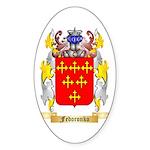 Fedoronko Sticker (Oval)