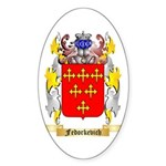 Fedorkevich Sticker (Oval 50 pk)
