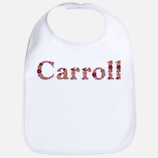 Carroll Pink Flowers Bib