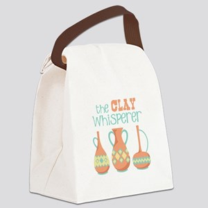 The Clay Whisperer Canvas Lunch Bag