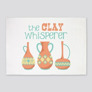 The Clay Whisperer 5'x7'Area Rug