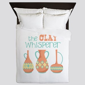 The Clay Whisperer Queen Duvet