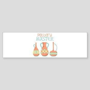 Pottery Master Bumper Sticker