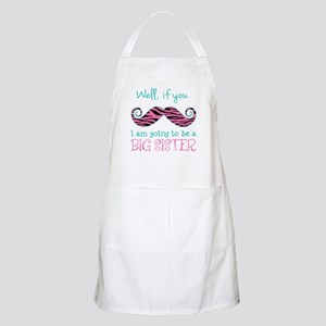 Im Going to be a Big Sister Apron