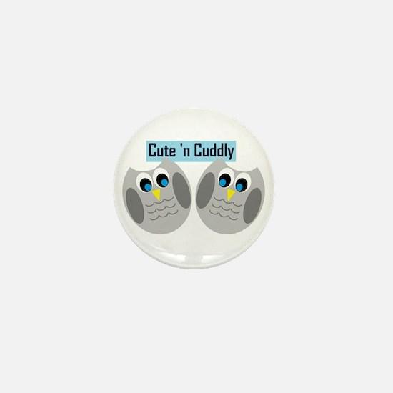 Cute n Cuddly Mini Button