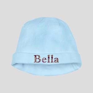 Bella Pink Flowers baby hat