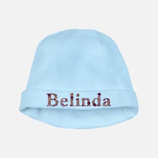Belinda Pink Flowers baby hat