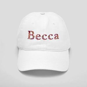 Becca Pink Flowers Baseball Cap
