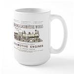 Brooks Locomotive Works Large Mug