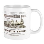 Brooks Locomotive Works Mug