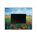 Poppy Field Picture Frame
