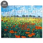 Poppy Field Puzzle