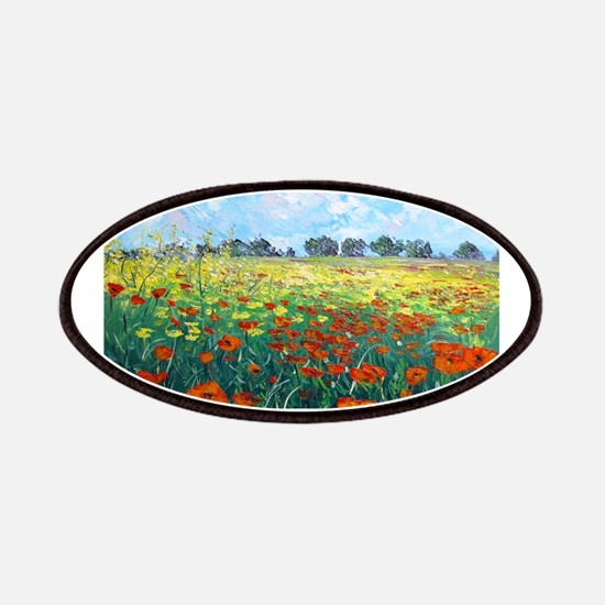 Poppy Field Patches