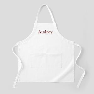 Audrey Pink Flowers Apron