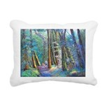 Bush Walk Rectangular Canvas Pillow