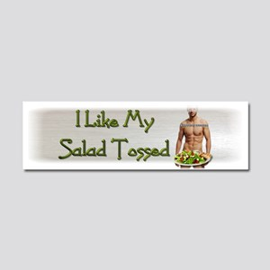 Salad_7 Car Magnet 10 x 3