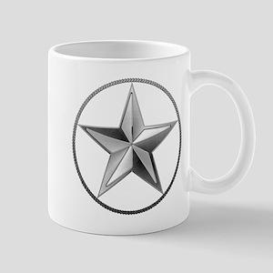 Silver Lone Star Mugs