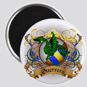 Guerrero Family Crest Magnet