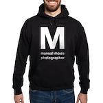 Manual Mode Photographer Hoodie
