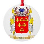 Fedinin Round Ornament