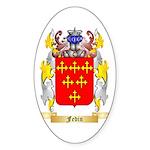 Fedin Sticker (Oval 50 pk)
