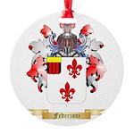 Federzoni Round Ornament
