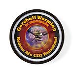 Gorebull Global Warming Wall Clock