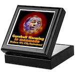 Gorebull Global Warming Keepsake Box