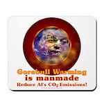 Gorebull Global Warming Mousepad