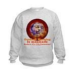 Gorebull Global Warming Kids Sweatshirt