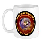 Gorebull Global Warming Mug
