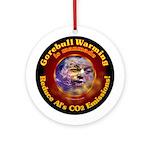 Gorebull Global Warming Ornament (Round)