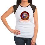 Gorebull Global Warming Women's Cap Sleeve T-Shirt
