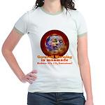 Gorebull Global Warming Jr. Ringer T-Shirt