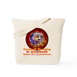 Gorebull Global Warming Tote Bag