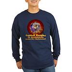 Gorebull Global Warming Long Sleeve Dark T-Shirt