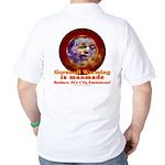 Gorebull Global Warming Golf Shirt