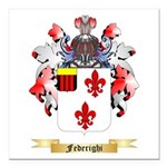 Federighi Square Car Magnet 3