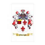 Federighi Sticker (Rectangle 50 pk)