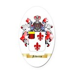 Federico Oval Car Magnet