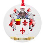 Feddercke Round Ornament